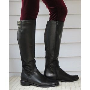 NIB SESTO MEUCCI tall leather boots Made in Italy